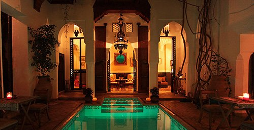 Book the Riad in exclusivity