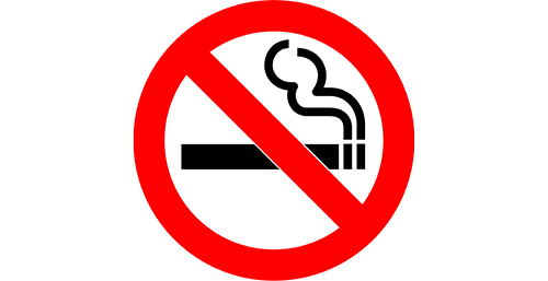 Non smoking hotel