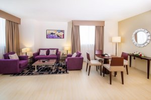 Family Three-Bedroom Suite with Sea View – Lebih besar dari kebanyakan di Fujairah