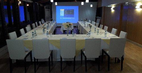 Sanāksmju telpas