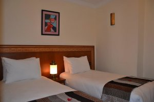 Pokoj typu Standard s oddělenými postelemi