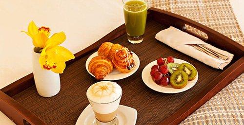 บุฟเฟต์อาหารเช้า