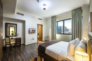 Стандартні апартаменти з однією спальнею