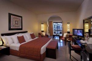 Komfort szoba kétszemélyes ággyal és kilátással a medencére - kizárólag egyiptomiak számára